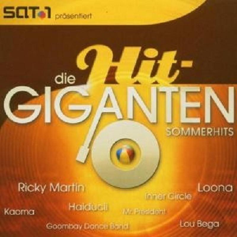 Die Hit Giganten Sommerhits 2 Cd Mit Ricky Martin Cds