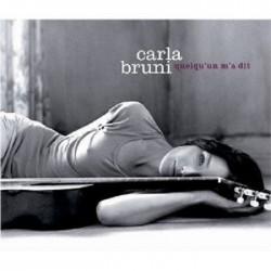 Carla bruni quelqu 39 un m 39 a dit cd 12 tracks neu ebay for Carla bruni le ciel dans une chambre