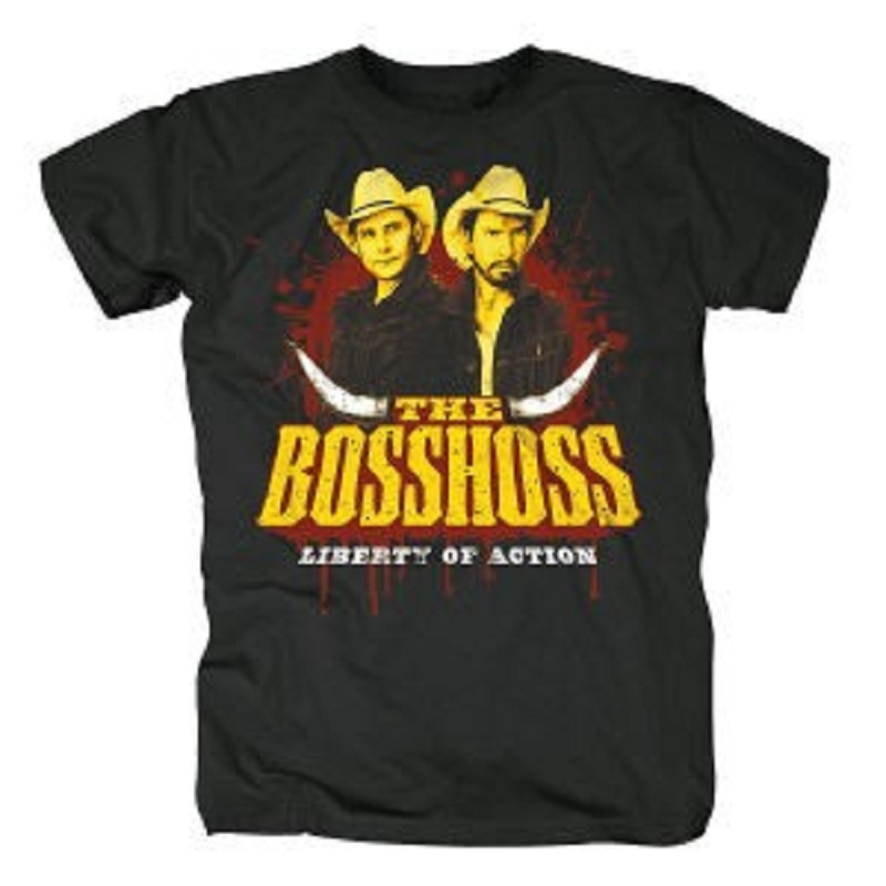 THE-BOSSHOSS-LIBERTY-OF-ACTION-T-SHIRT-GR-SIZE-M-NEU