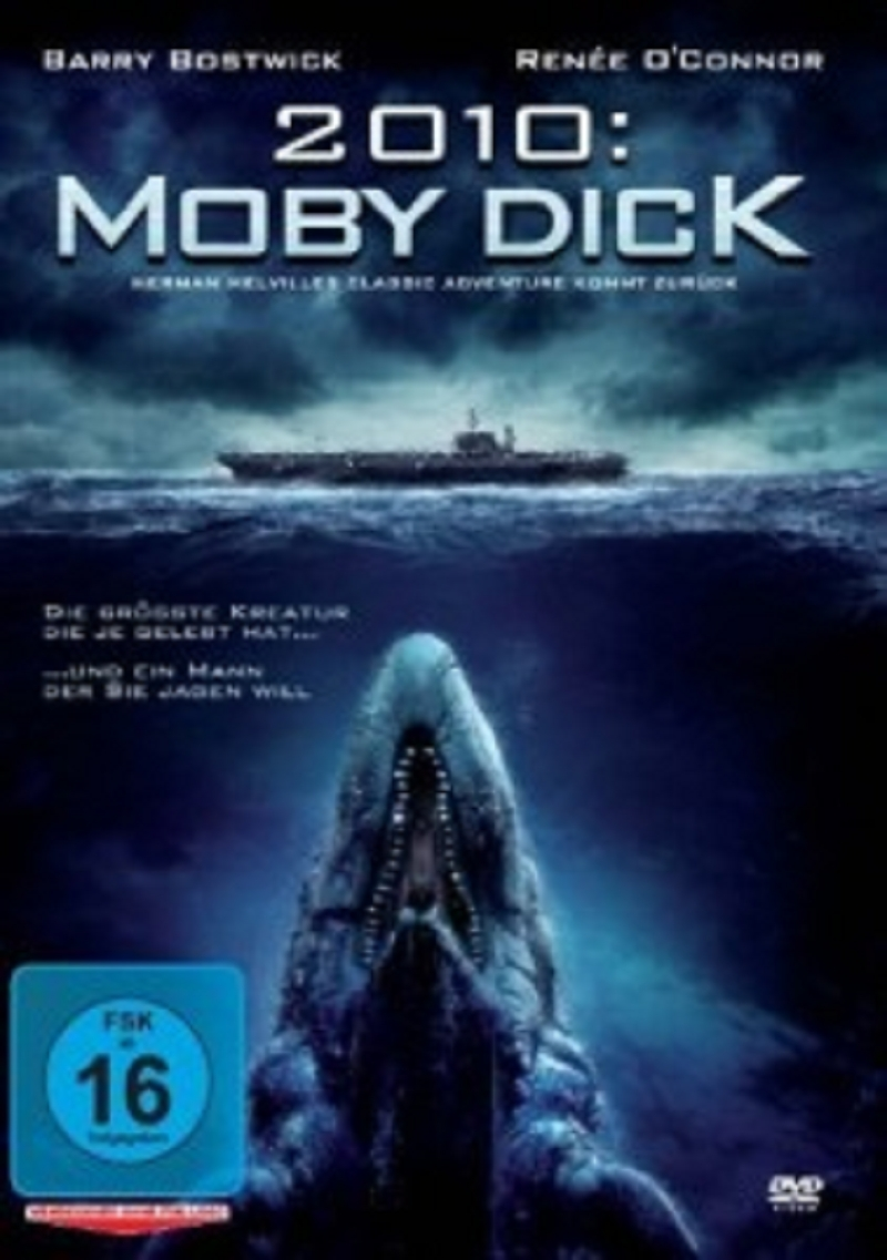 RENEE-O-CONNOR-BARRY-BOSTWICK-MATT-LAGAN-MOBY-DICK-DVD-NEU