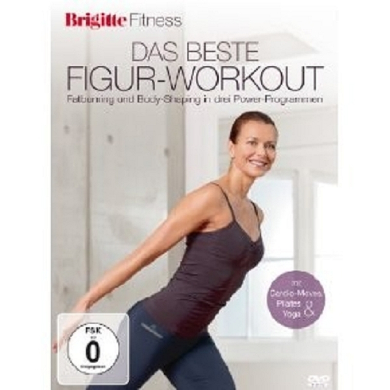 Brigitte Fitness Das Perfekte Figur Workout Dvd Neu Ebay
