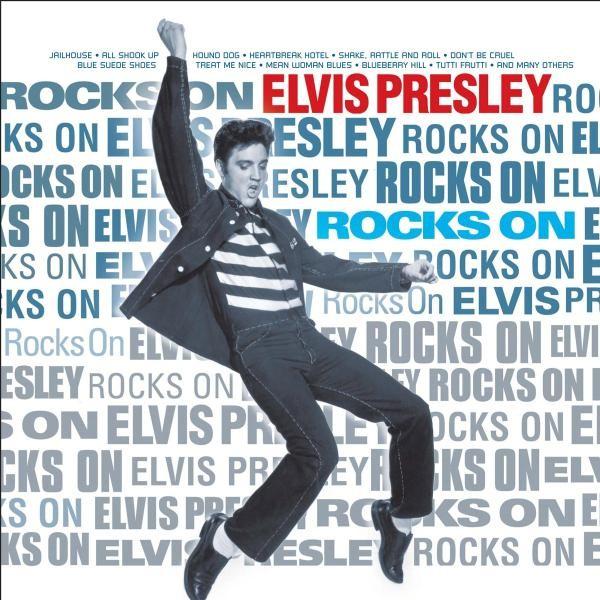 "ELVIS PRESLEY ""ROCKS ON"" 2 LP VINYL NEU"