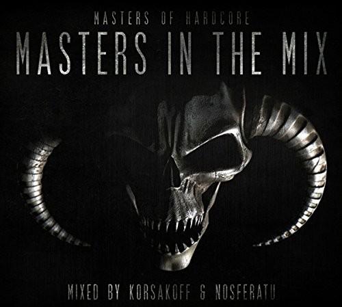 KORSAKOFF & NOSFERATU PRES. - MASTERS OF HARDCORE IN THE MIX 2 CD NEU
